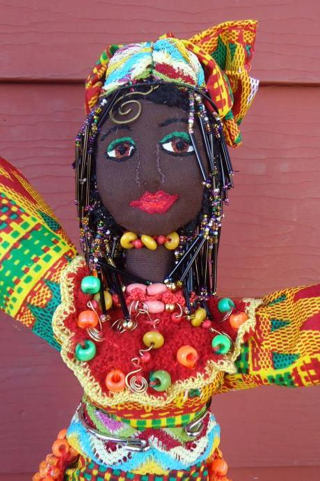 Oya – African Goddess of Change, Encouragement and Powerful Mind and Strong Memory