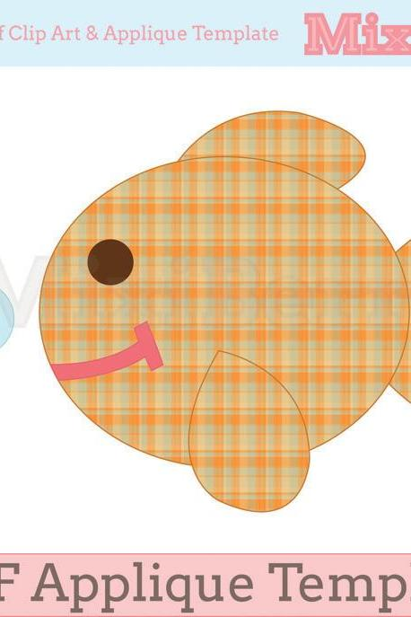 Fish Applique Pattern PDF