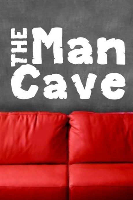Vinyl Decal Man Cave Vinyl Wall Decal 22233