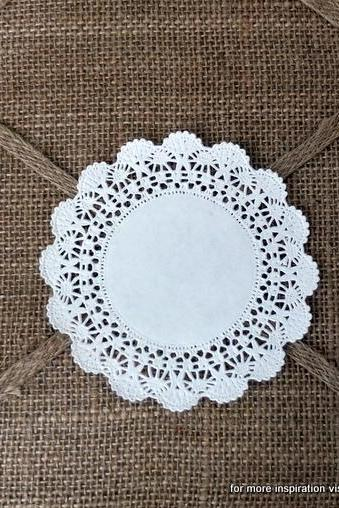 20 - 4 in. Paper Doilies
