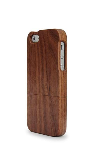 IPHONE 5 WALNUT WOOD CASE