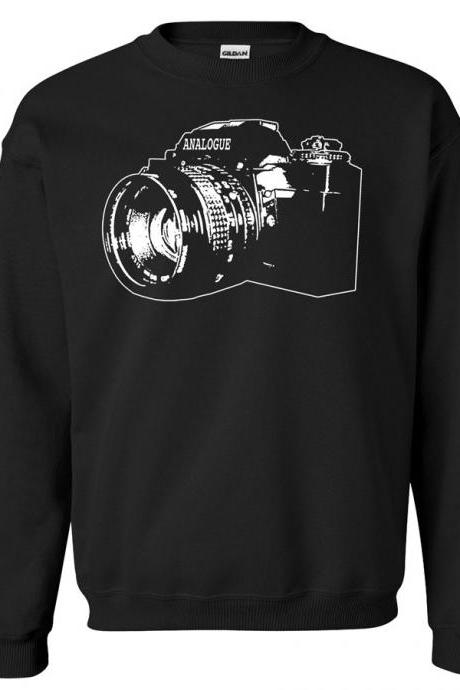 Vintage SLR Camera Crew Neck Sweat Shirt