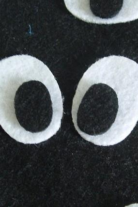 50 pair of eyes (black and white ) in total 100 pieces