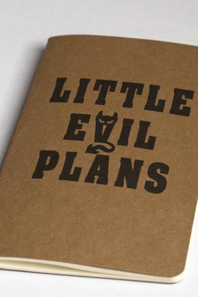 Little Evil Plan - Moleskine Cahier