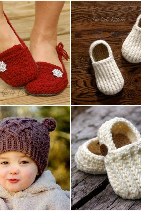 Crochet pattern Any 4 crochet Patterns for 17.00