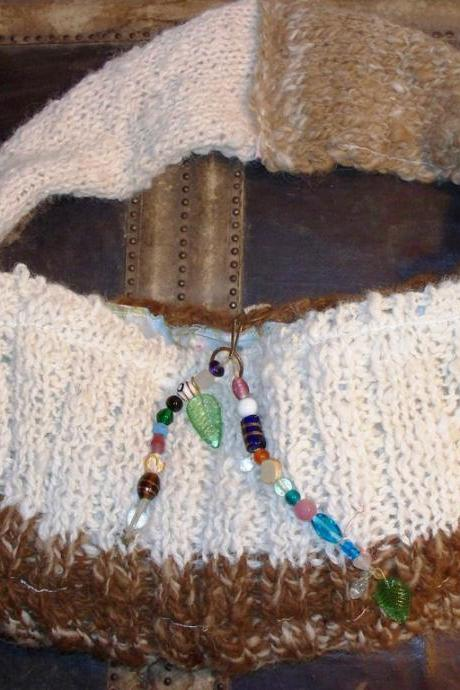 Natures Blessing Artisan Hand Bag Handspun