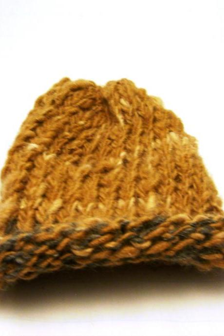 Nature Child Beanie tan grey