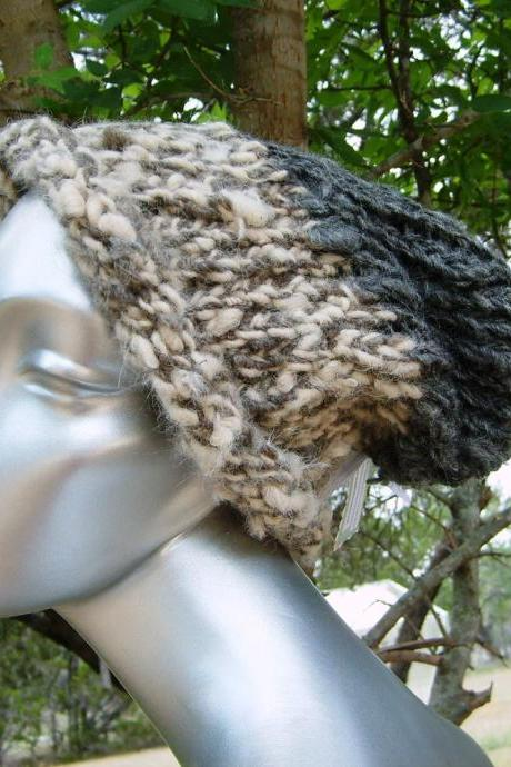 Creamy Moonlight Slouch Hat