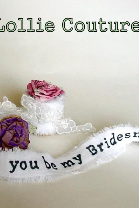 Will you be my Bridesmaid - Will you be my Maid of honor - Flower Girl - Ring bearer - Bridesmaid cards
