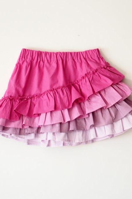 Shapla Ruffle Skirt PDF Pattern sizes 0-3 months to 12 years!