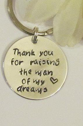 Thank You Keychain - Wedding Gifts