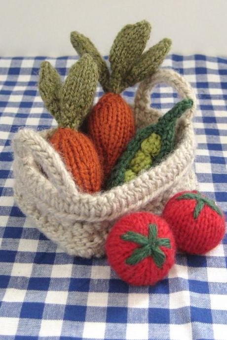 Fruit & Vegetables toy knitting patterns