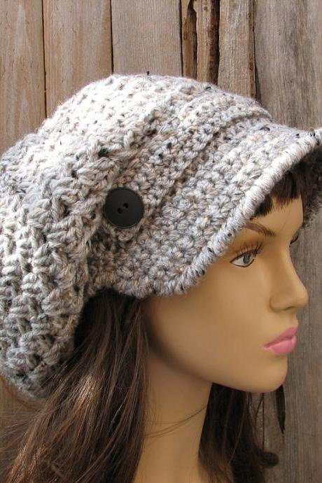 CROCHET PATTERN!!! Crochet Hat - Newsboy hat Hat, Crochet Pattern PDF,Easy, Great for Beginners, Pattern No. 37