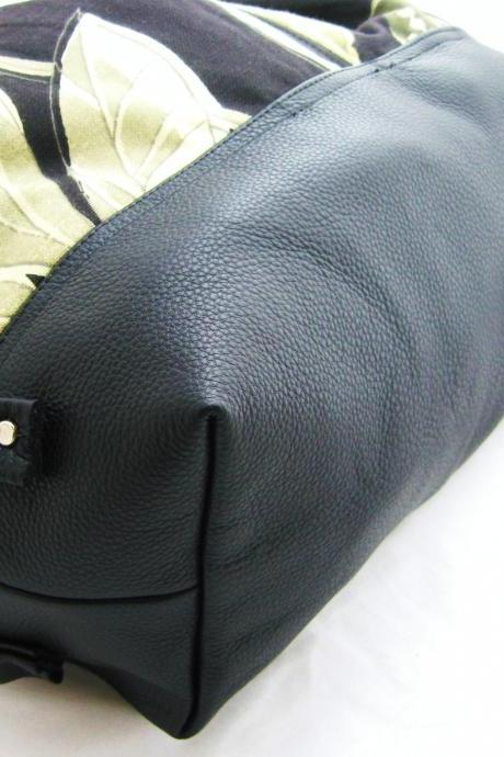 Leather bottom for XL covertible tote