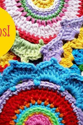 Rosette Crochet Pattern Couple
