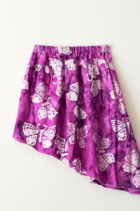 Ahona Asymmetric Skirt PDF Pattern sizes 0-3 months to 14 years!