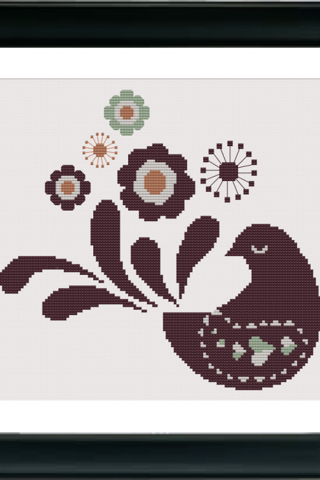 Paloma (Dove) Cross Stitch Pattern