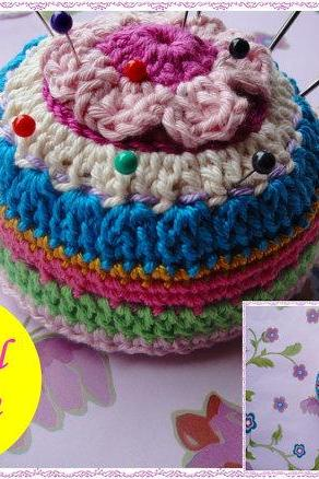 Easy Pincushion Crochet Pattern
