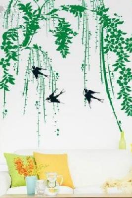 Birds tree art decor Vinyl wall stickers mural decals