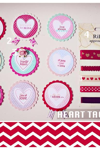 Heart Tags Kit