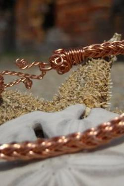 Braided 6-wire Copper Bracelet size 7 1/2