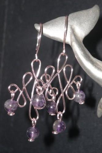 Pink & Amethyst Celtic Wave