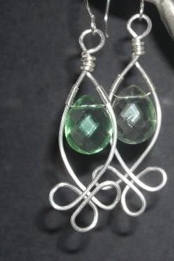 Silver Celtic Buds