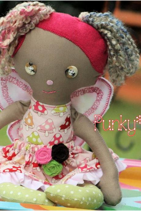 Fairy Cloth Doll Laney 14in