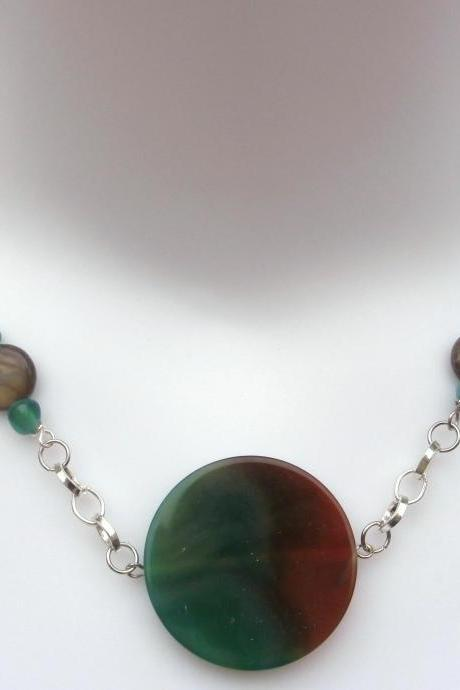 Gorgeous Bloodstone Necklace