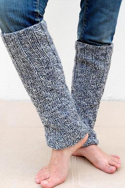 2 in 1 Leg Warmers and Boot Cuff, Grey Leg Warmers, Gray Leg Warmers, Knit Boot Cuff, Knit Boot Toppers.