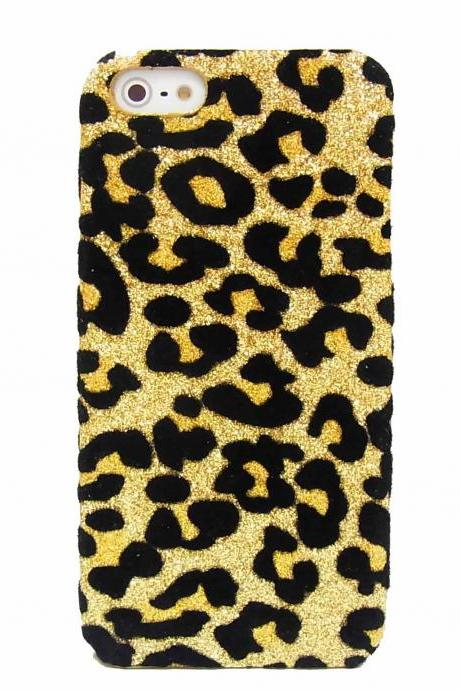 iphone case, iphone 5 case, iphone 5G case, iPhone 5 Case Cover, bling iPhone 5 case, Leopard Gold iPhone 5 Case, iphone 5G cover,iphone 5s case,bling iphone 5s case,leopard iphone 5s case