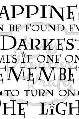 Harry potter, Dumbledore Quote vinyl wall decal