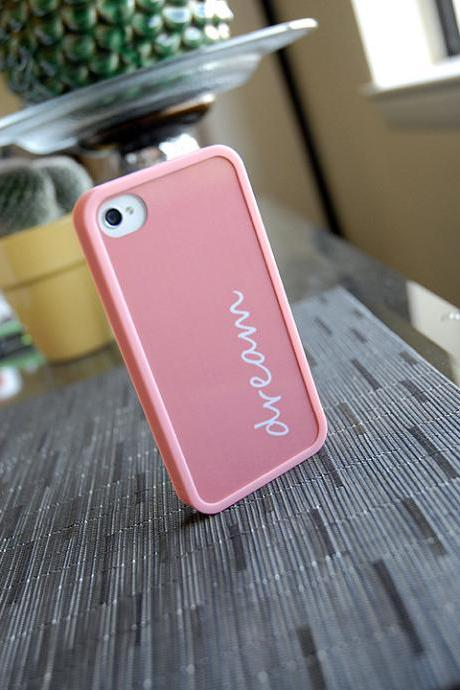 I dream of Pink Custom iPhone Case