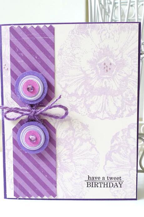 Have a tweet birthday card