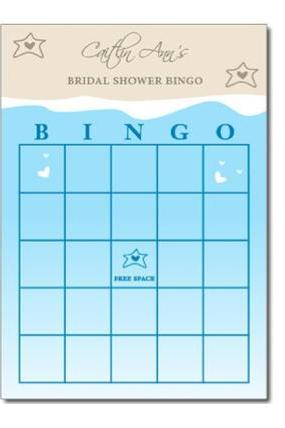 Ocean / Beach Themed Bingo Game PDF