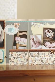 Workshops on the Go® Babycakes Scrapbooking Kit by Close to my Heart (CTMH)