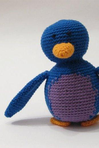 Penguin, blue