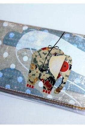 Quick Snap Card Holder - Polka