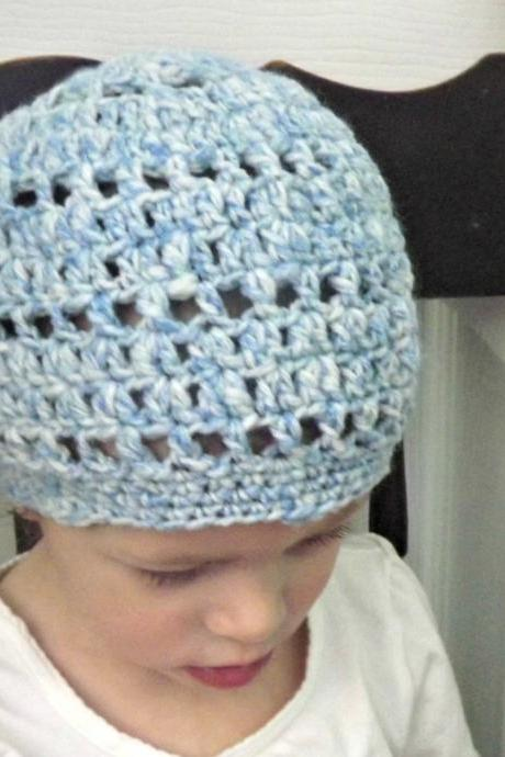 slouchy hat beret tam, toddler sized 12 months to 2 years ready to ship