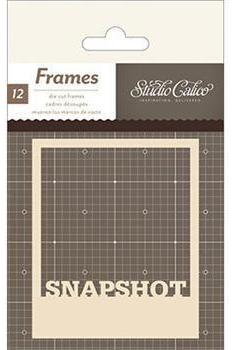 Die Cut Polaroid Frames Classic Calico v3 by Studio Calico