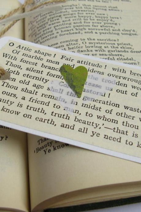 'Beauty is Truth' mini bookmark