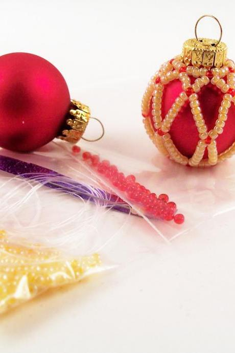 Diamond Beaded Ornament Kit