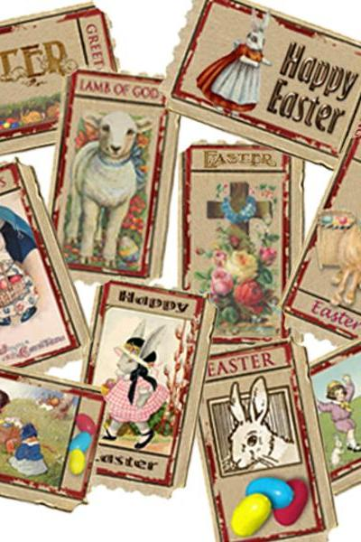 Printable Easter Tickets