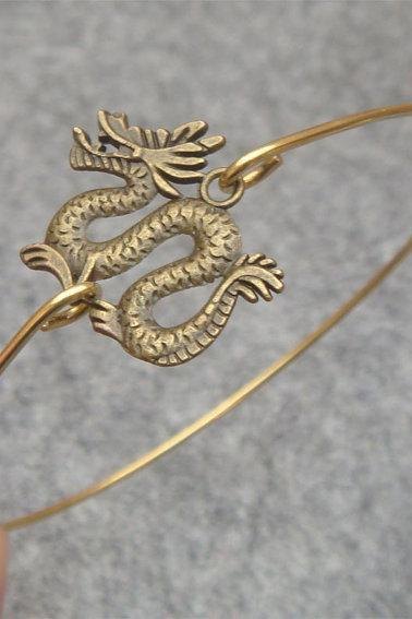 Dragon Bangle Bracelet Style 2