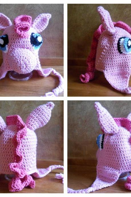 My Little Pony Hat (Size Toddler, Child, or Adult) - most characters available