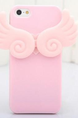 the iphone 5 generations angel wings luminous silicone sleeve