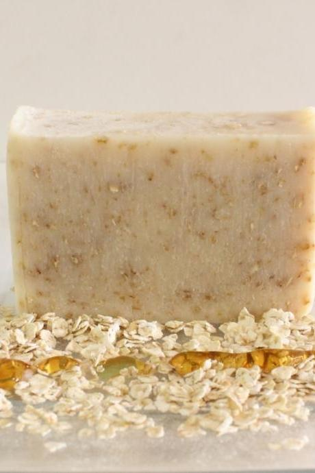 Oats & Honey Soap | Natural Handmade Honey Oatmeal Soap