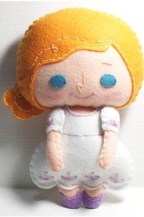 Shelby girl - PDF Doll Pattern