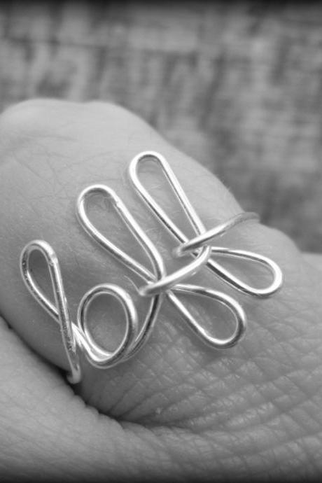 BFF ring.Best friend ring.Love ring.Bridal party gift.Best friend jewelry.