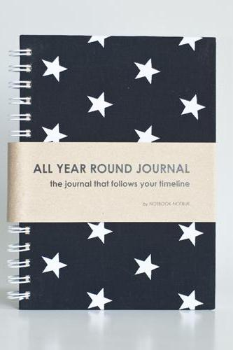 All Year Round Journal (unfilled dates / months / years) - Rockstar